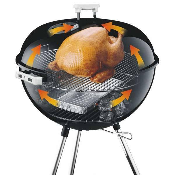 Weber holzkohlegrill one touch premium 47 cm 1251004 grillarena - Grille de barbecue weber ...