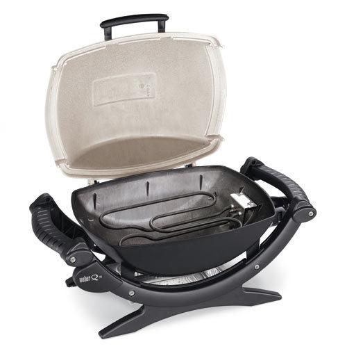 weber q 140 elektrogrill 526079 grillarena. Black Bedroom Furniture Sets. Home Design Ideas