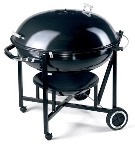 weber ranch kettle 96 cm holzkohlegrill grillarena. Black Bedroom Furniture Sets. Home Design Ideas