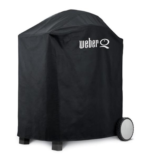 abdeckhaube premium von weber f r q200 q2000er serie 6552 grillarena. Black Bedroom Furniture Sets. Home Design Ideas