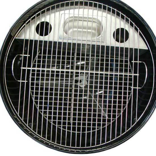 set holzkohle kugelgrill easy charcoal 570 von outdoorchef inkl smoker grillarena. Black Bedroom Furniture Sets. Home Design Ideas