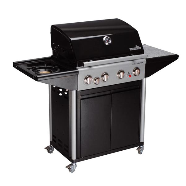 set outdoorchef grillstation wellington 4b inkl bratenkorb mit motor grillarena. Black Bedroom Furniture Sets. Home Design Ideas