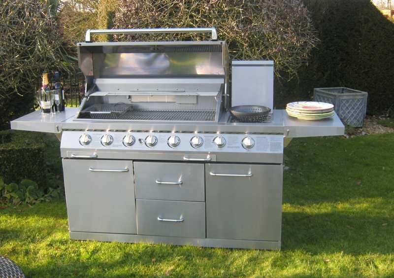 gasgrillstation backburner grill nachr sten. Black Bedroom Furniture Sets. Home Design Ideas