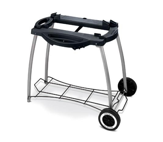 weber q 240 elektrogrill inkl rollwagen standard 30011. Black Bedroom Furniture Sets. Home Design Ideas