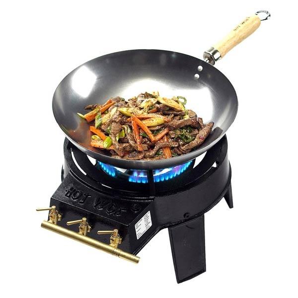 wok f r grill kleinster mobiler gasgrill. Black Bedroom Furniture Sets. Home Design Ideas