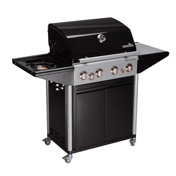 outdoorchef grillstation wellington 4b mit drehspiess. Black Bedroom Furniture Sets. Home Design Ideas