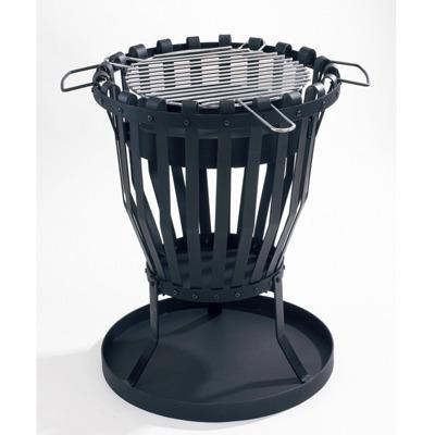 feuerkorb mit grilleinsatz 11768 von landmann grillarena. Black Bedroom Furniture Sets. Home Design Ideas