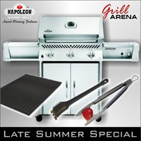 napoleon gasgrill prestige p450sbpss grill blog grillarena. Black Bedroom Furniture Sets. Home Design Ideas