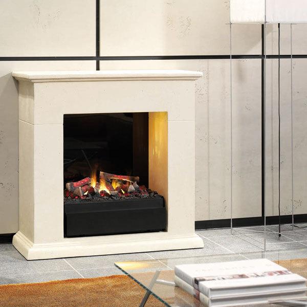 elektrokamin leco inkl elektroeinsatz mystic fires rf 20 ruby fires grillarena. Black Bedroom Furniture Sets. Home Design Ideas