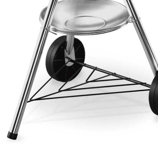 one touch original kettle holzkohlegrill weber 47cm schwarz 1241304 grillarena. Black Bedroom Furniture Sets. Home Design Ideas