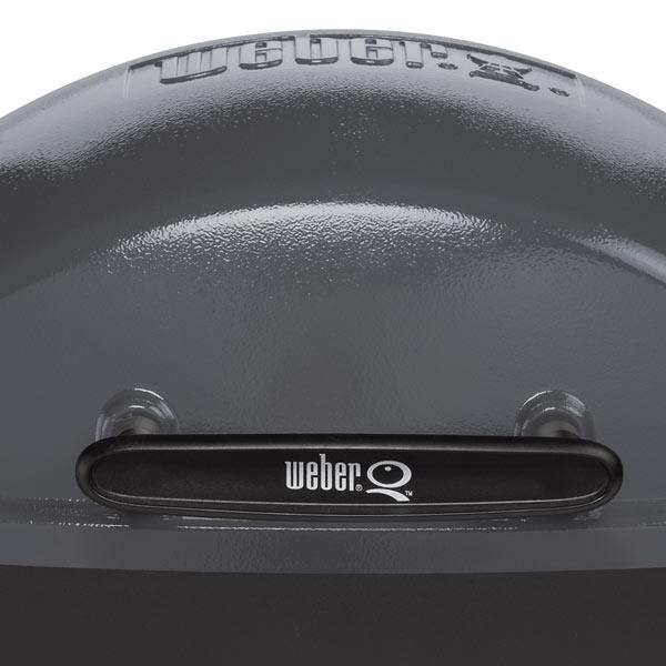 weber q 140 elektrogrill dark grey 522079 grillarena. Black Bedroom Furniture Sets. Home Design Ideas
