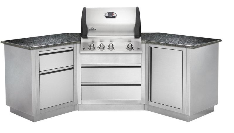Outdoor Küche Edelstahl Napoleon : Outdoorküche oasis 200 von napoleon grillarena