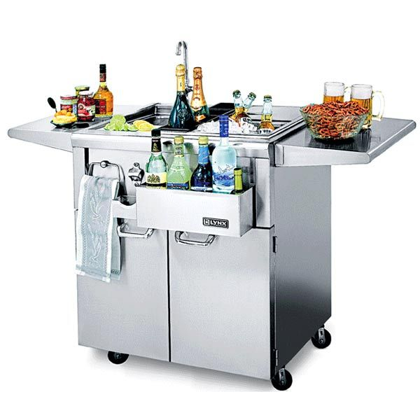 30 Outdoor Kitchens And Grilling Stations: California Professional Cocktail Station Standgerät Lynx