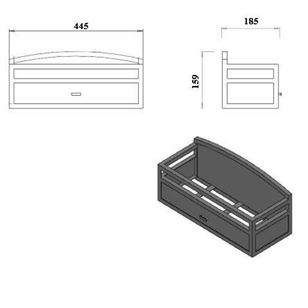 Wohnzimmer und Kamin bioethanol kamin tischfeuer : Fire Basket inkl. Bio Brenner von Ruby Fires - GRILLARENA