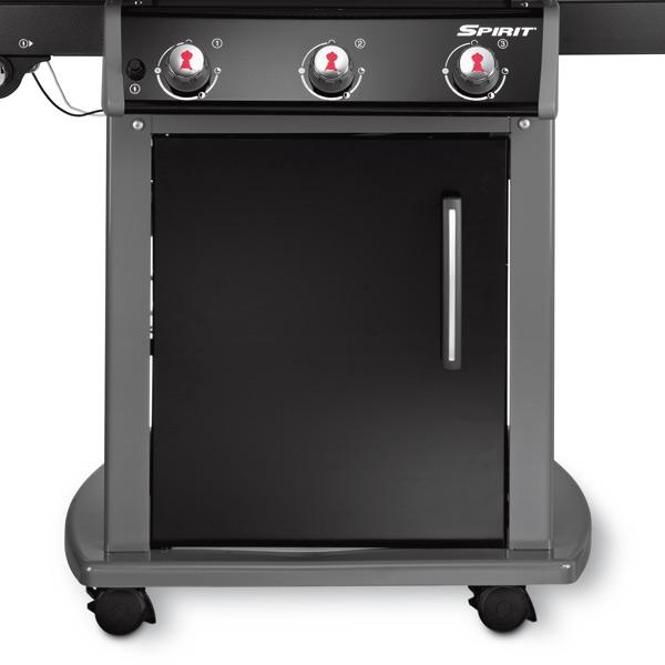 weber gasgrill spirit e 320 original in schwarz grillarena. Black Bedroom Furniture Sets. Home Design Ideas