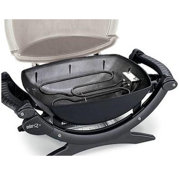 weber grill q 100 stand gasgrill titan 210079 grillarena. Black Bedroom Furniture Sets. Home Design Ideas
