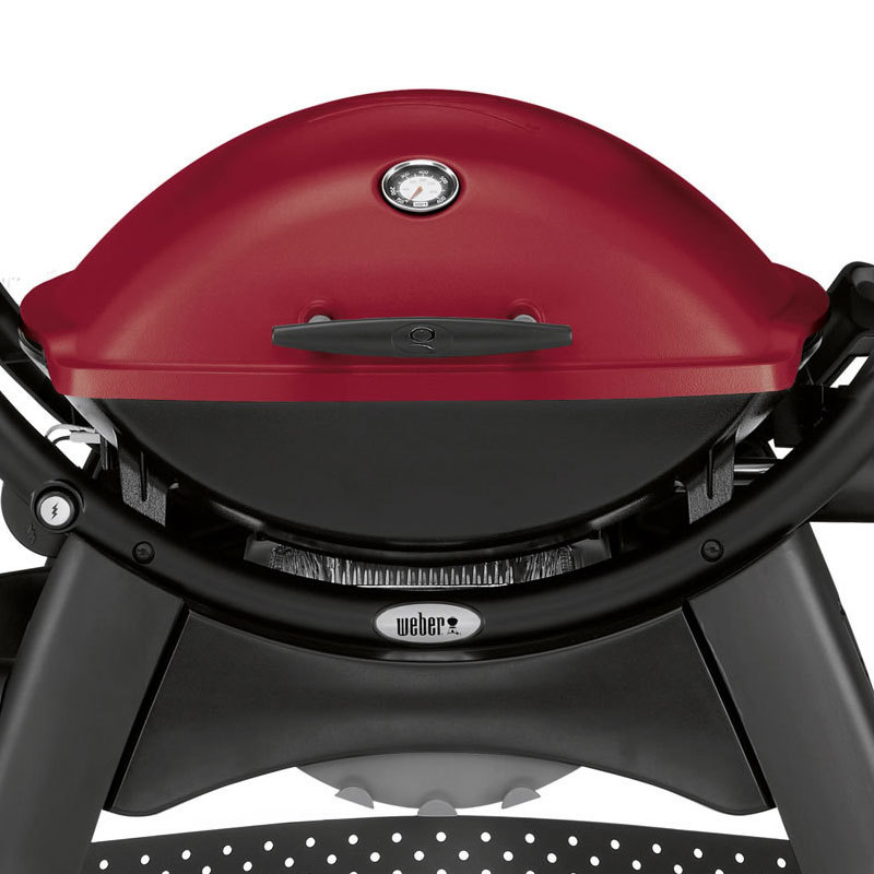 weber q 2200 station gasgrill maroon modell 2017 210379. Black Bedroom Furniture Sets. Home Design Ideas