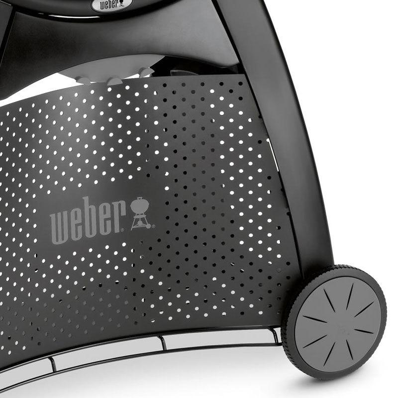 weber q3200 maroon mit verbessertem led grifflicht modell 2017 grillarena. Black Bedroom Furniture Sets. Home Design Ideas