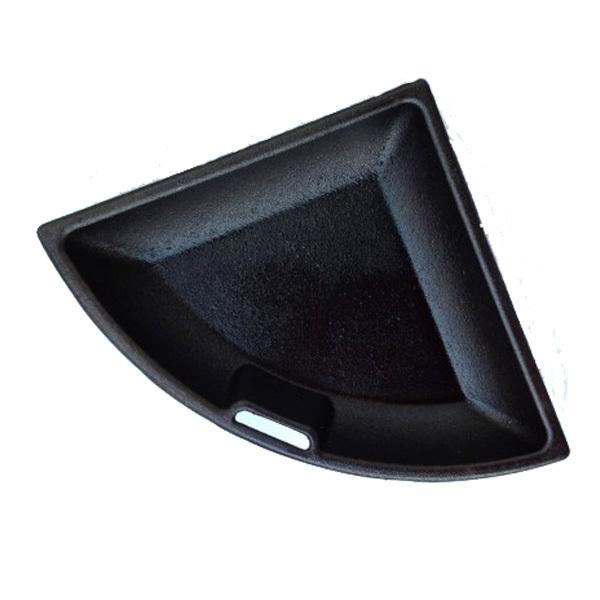 geschlossene wendepfanne f r cast iron grate 57er grillarena. Black Bedroom Furniture Sets. Home Design Ideas