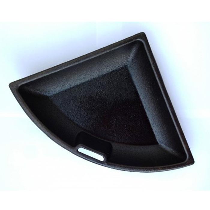 geschlossene gusspfanne f r 57er cast iron grate grillarena. Black Bedroom Furniture Sets. Home Design Ideas