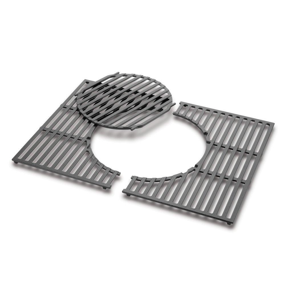 8847 weber gourmet bbq system grillrost mit grillrosteinsatz aus gusseisen f r spirit 300. Black Bedroom Furniture Sets. Home Design Ideas