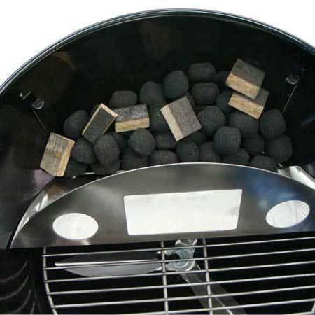 Grillshop GA Edelstahl - Smoker - Einsatz Kugelgrill 57cm Smoknator