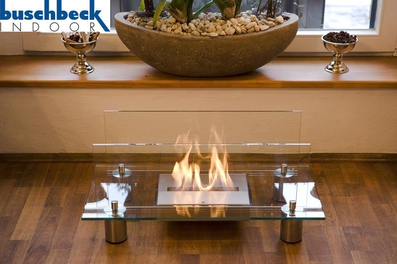 bio ethanolkamin crystal von buschbeck f r innen und aussen grillarena. Black Bedroom Furniture Sets. Home Design Ideas