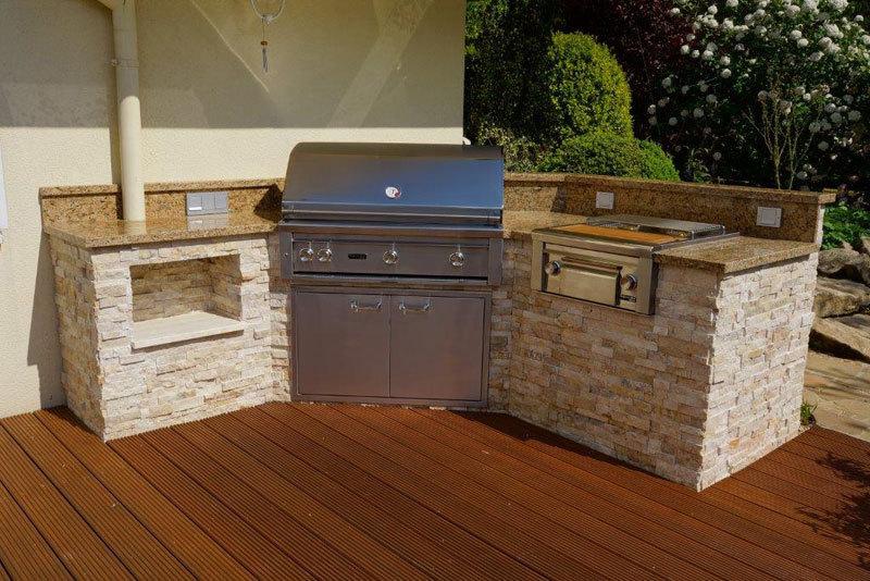 california gas grill professional 42 einbauger t von lynx. Black Bedroom Furniture Sets. Home Design Ideas