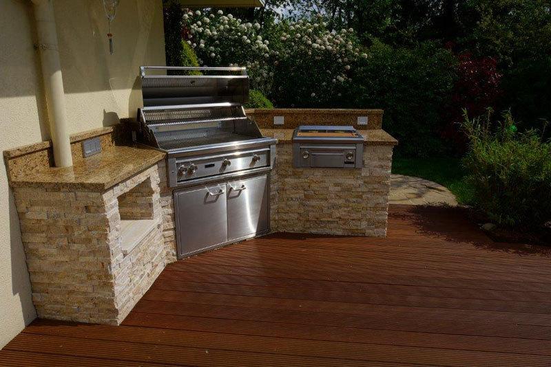 Outdoorküche Mit Gasgrill : Gasgrill in outdoor küche integrieren gasgrill für die küche