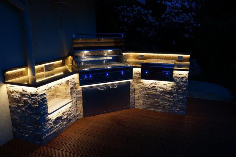Einbau Gasgrill Outdoor Küche : Outdoor küchen einbaugrills von fire magic