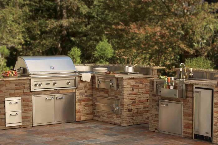 california professional outdoor edelstahl k hlschrank lynx l24ref grillarena. Black Bedroom Furniture Sets. Home Design Ideas