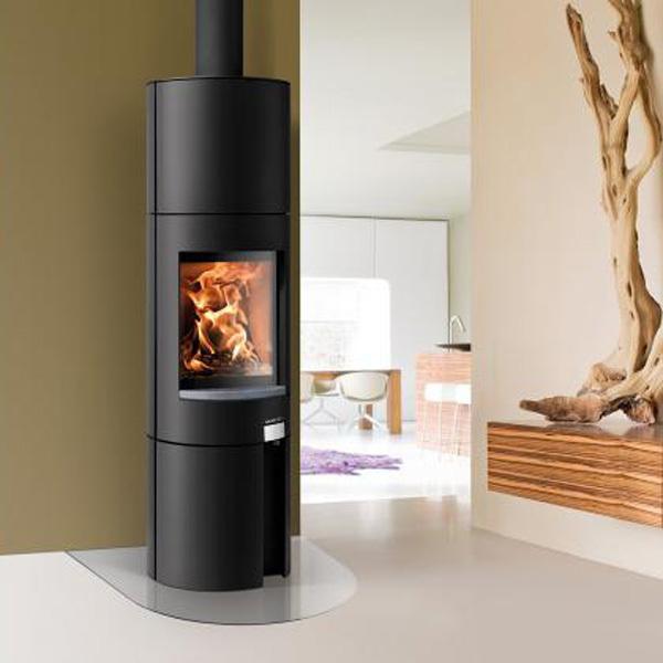 kaminofen ficus rlu grande inkl kaminbesteck haas sohn grillarena. Black Bedroom Furniture Sets. Home Design Ideas