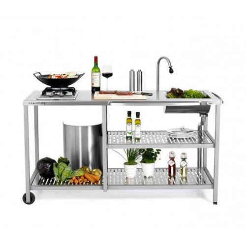 Outstanding Exclusive Außenküche mit Gaskocher - GRILLARENA