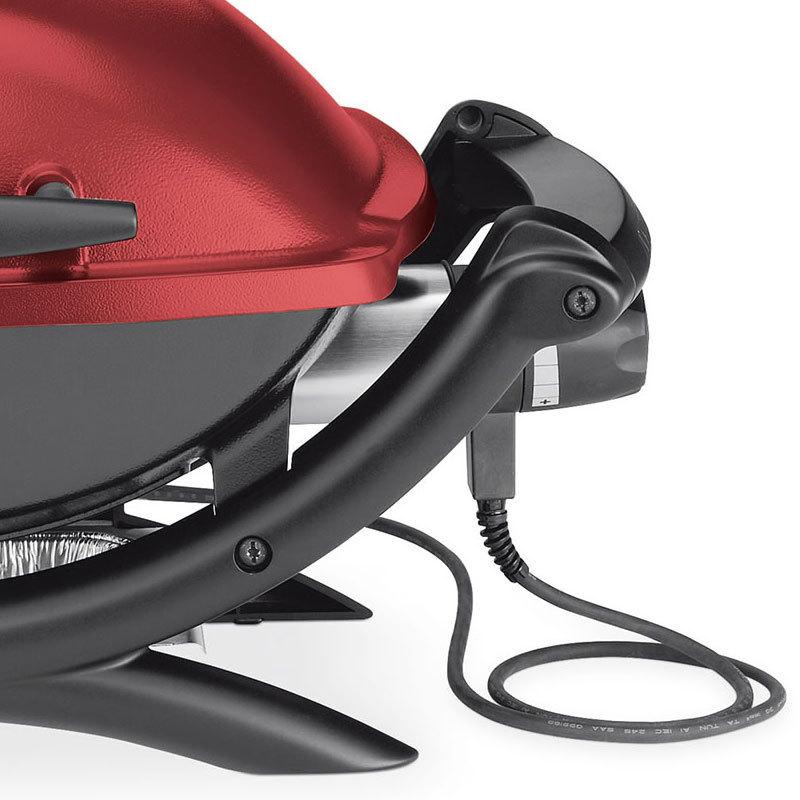 weber q 1400 elektrogrill maroon modell 2017 52160079 grillarena. Black Bedroom Furniture Sets. Home Design Ideas