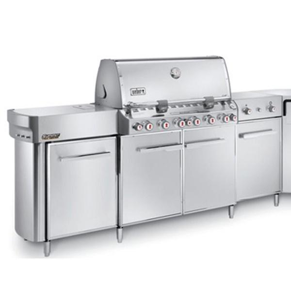 weber summit grill center edelstahl gbs 293079 grillarena. Black Bedroom Furniture Sets. Home Design Ideas