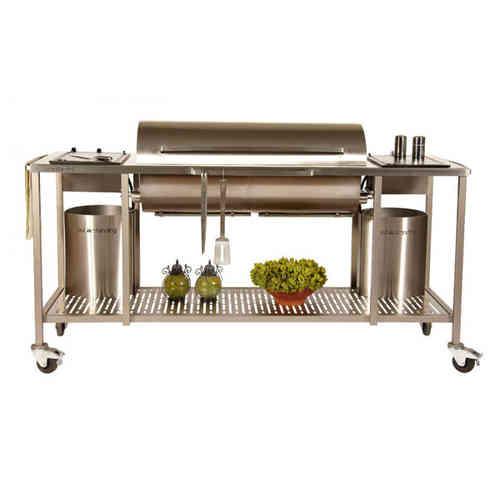Einbau gaskocher outdoor kuche for Outdoorkuche mit grill