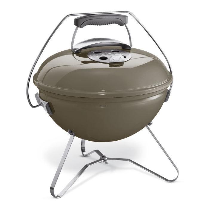 holzkohlegrill smokey joe premium 37 cm smoke grey 1126704 von weber grillarena. Black Bedroom Furniture Sets. Home Design Ideas