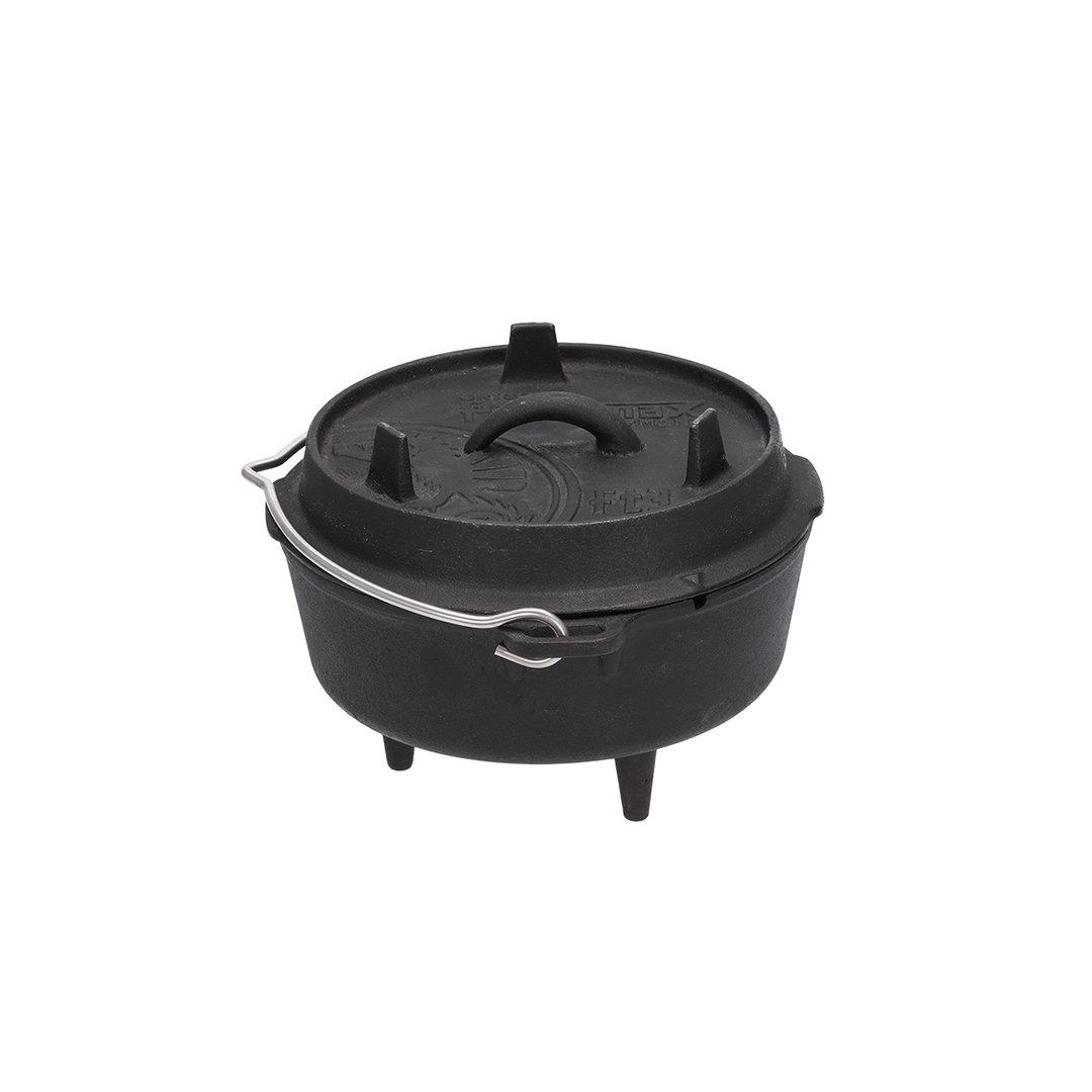 Petromax® Feuertopf mit Füßen und Deckel (ft3)