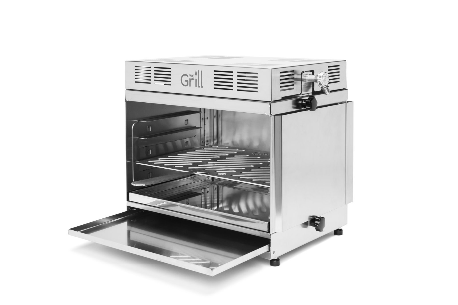wegrill folding 850 grad steak infrarot grill grillarena. Black Bedroom Furniture Sets. Home Design Ideas