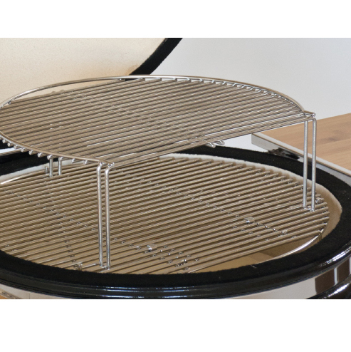 zweiter grillrost aus edelstahl f r keramikgrill saffire 19 grillarena. Black Bedroom Furniture Sets. Home Design Ideas