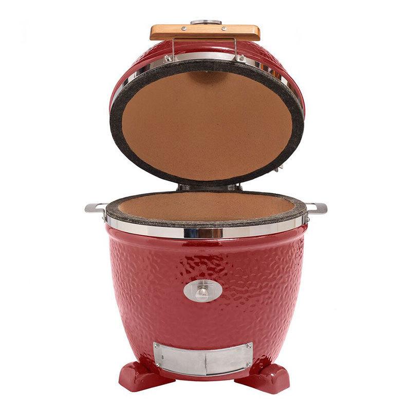 monolith keramik grill 2018 junior rot 201022 r ohne gestell grillarena. Black Bedroom Furniture Sets. Home Design Ideas