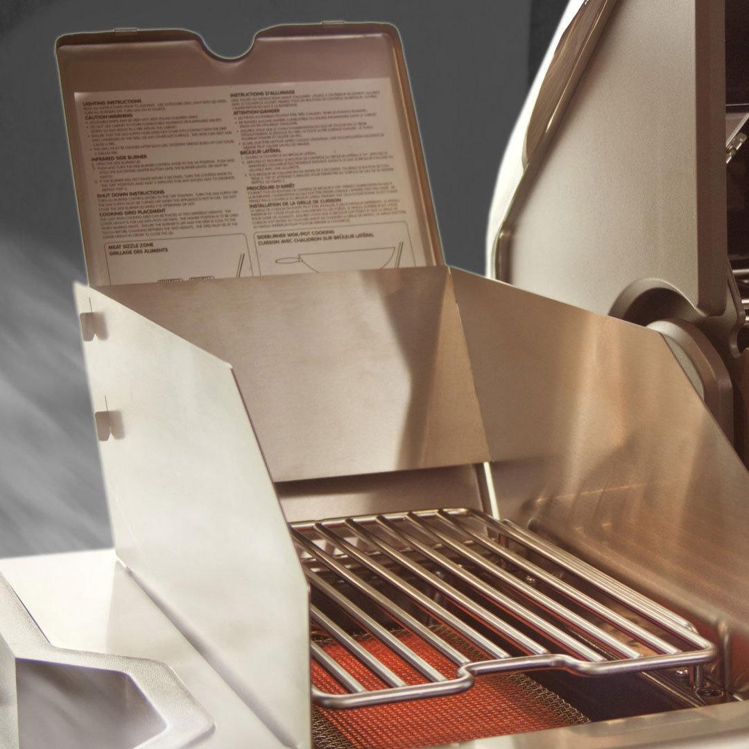 GrillARENA GA Wind- und Spritzschutz für die SizzleZone (GA-WINDSCHUTZ)