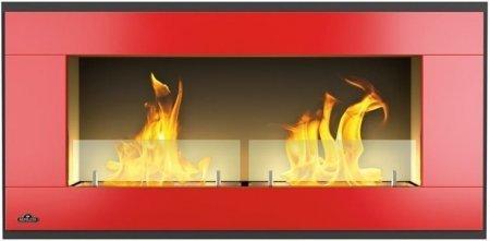 napoleon fireplace bio ethanol wandkamin wmfe3 rot grillarena. Black Bedroom Furniture Sets. Home Design Ideas