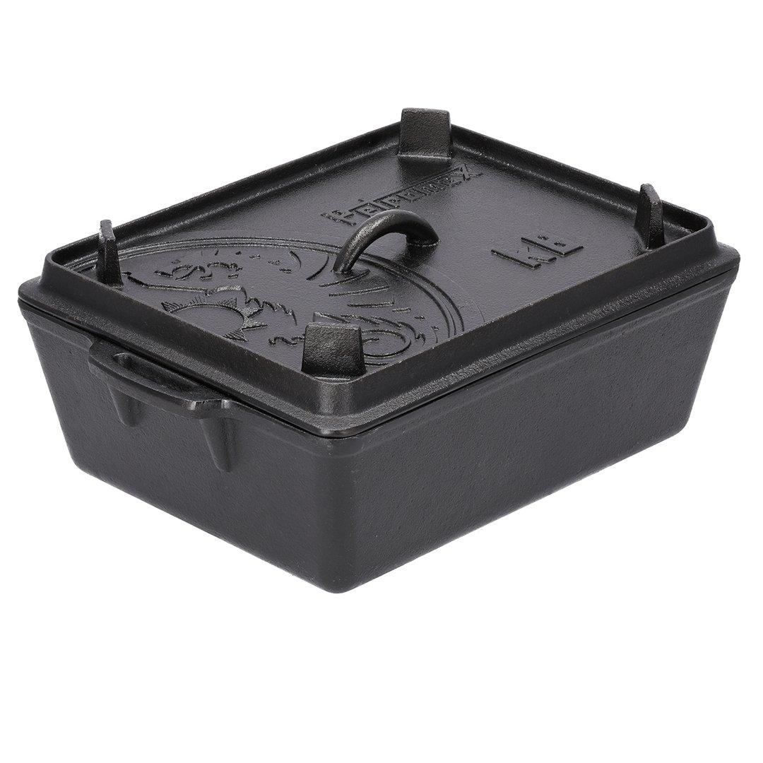 Petromax® Kastenform k8 mit Deckel