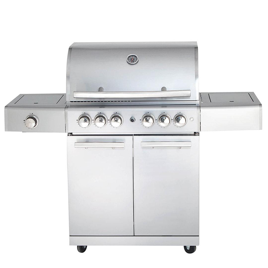 All'Grill® Gasgrill Chef L Top-Line Volledelstahl (100909-1)