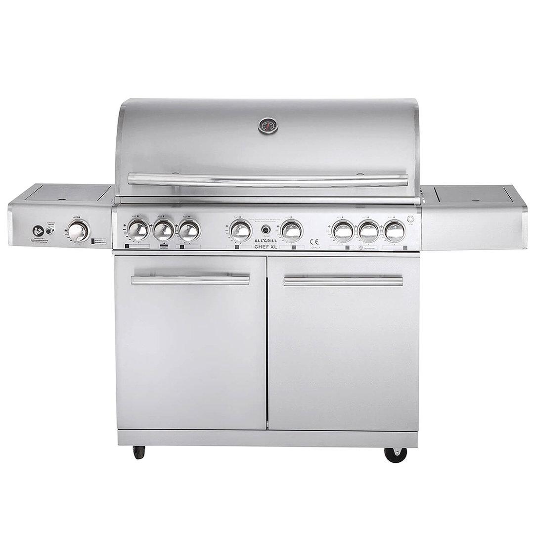 All'Grill® Gasgrill Chef XL Top-Line Volledelstahl (100919)
